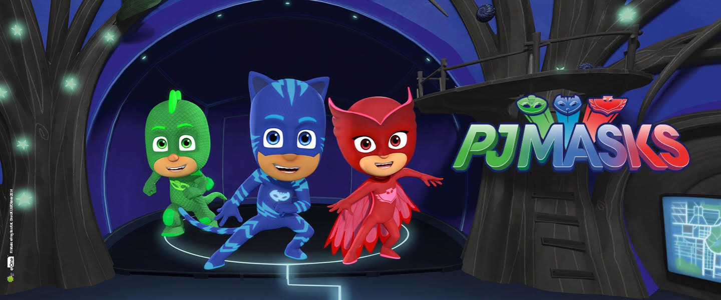 You can meet PJ Masks heroes in July and August!