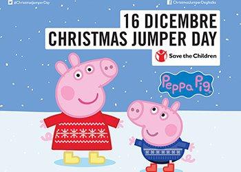 Peppa Pig Il Compleanno Di Natale.Anche Peppa Pig E George Sfoggiano Il Loro Maglione Di Natale