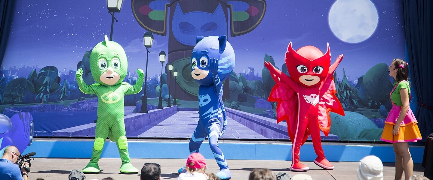 At great demand PJ Masks stay with us for all september!